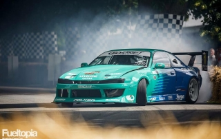 James Deane at Goodwood Festival of Speed